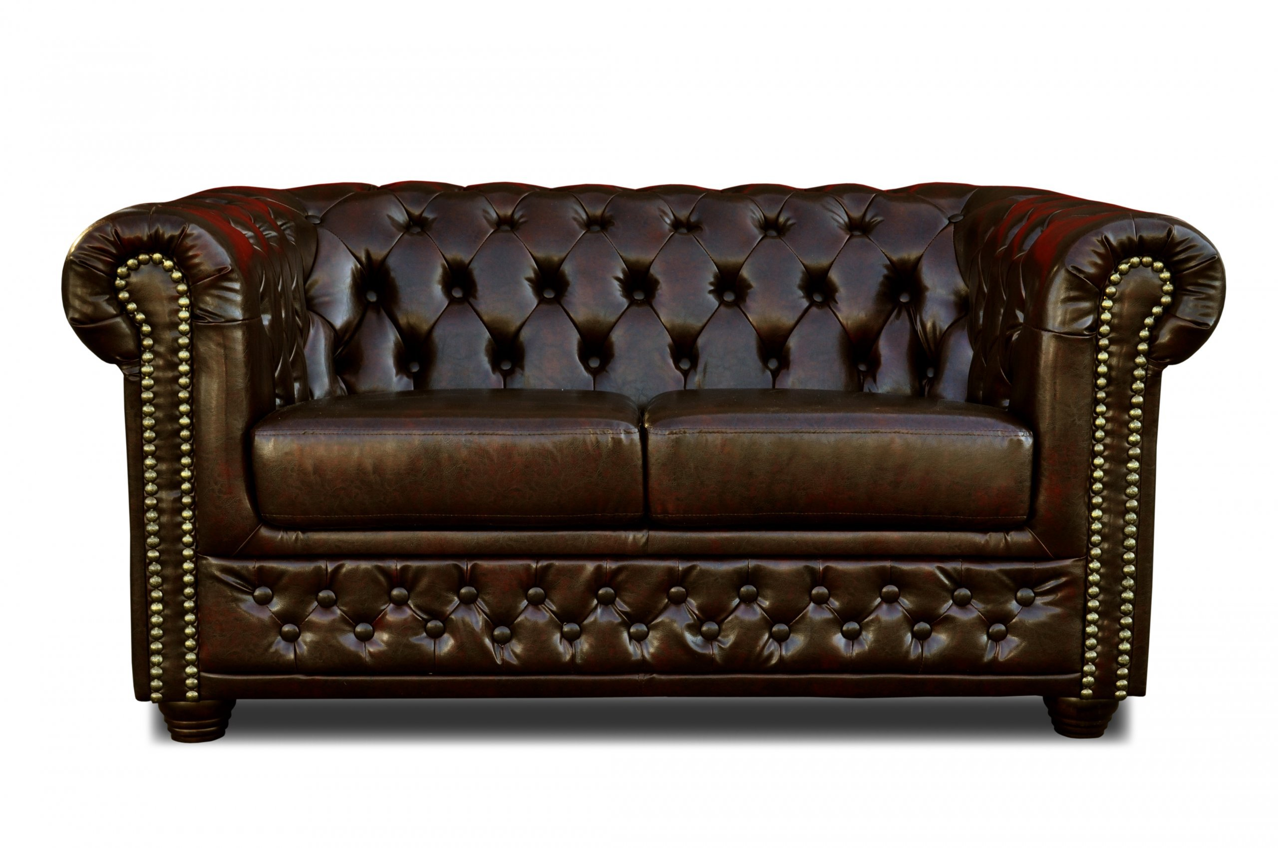 chesterfield sofa 3 2er sitzer sessel couch garnitur. Black Bedroom Furniture Sets. Home Design Ideas